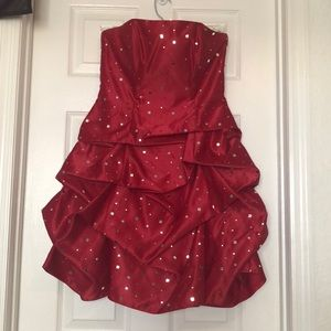 NWT Red Formal Dress